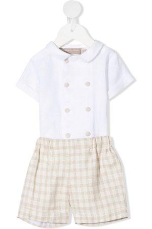 LA STUPENDERIA Leonardo shirt/shorts set