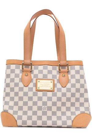 LOUIS VUITTON 2009 pre-owned Damier Azur Hampstead PM tote bag