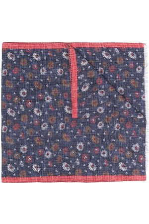 Lady Anne Heren Sjaals - Pianosa floral-print scarf
