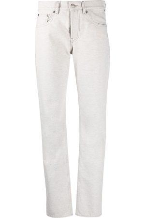 Maison Margiela Dames Straight - Four-stitch straight-leg jeans