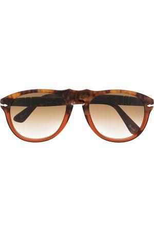 Persol Heren Zonnebrillen - Tortoiseshell aviator sunglasses