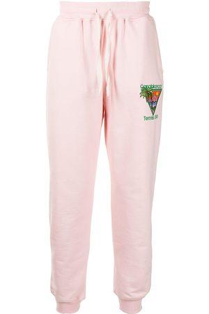Casablanca Heren Joggingbroeken - Embroidered track pants