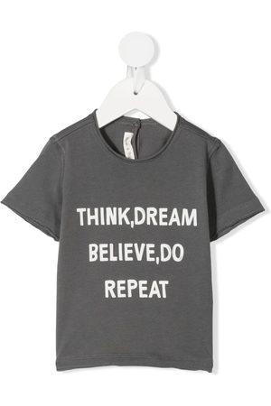 Zhoe & Tobiah T-shirts - Slogan-print cotton T-shirt
