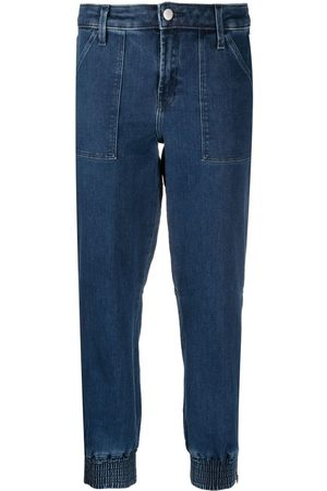 J Brand Dames Tapered - Cropped tapered jeans
