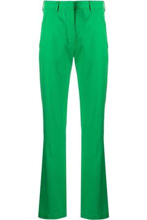 LANEUS Dames Wijde broeken - High-rise flared trousers