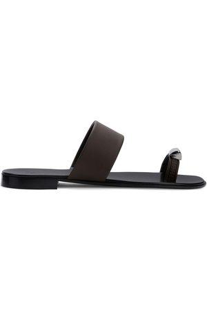 Giuseppe Zanotti Heren Outdoor Sandalen - Metal toe strap sandals