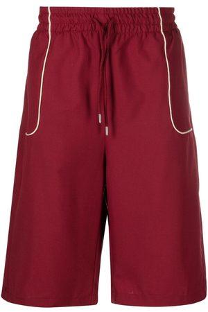 Drôle de Monsieur Heren Bermuda's - Contrast-trim shorts