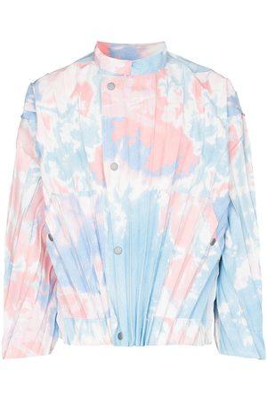 HOMME PLISSÉ ISSEY MIYAKE Heren Leger jassen - Tie-dye pleated jacket