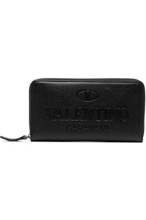 VALENTINO GARAVANI Heren Portemonnees - Logo-debossed wallet