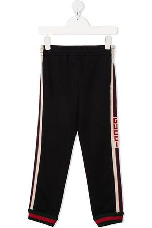 Gucci Web-stripe tracksuit bottoms