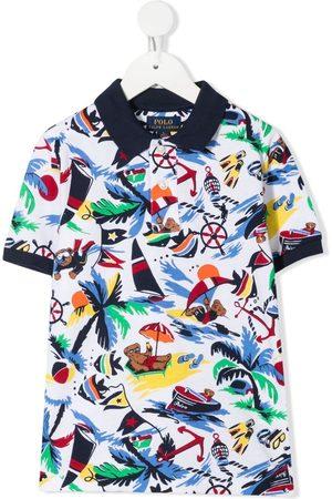 Ralph Lauren Poloshirts - Bear print polo shirt