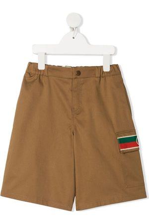Gucci Logo stripe shorts