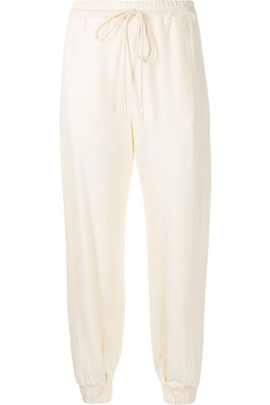 MANNING CARTELL Dames Strings - Drawstring-waist cotton trousers
