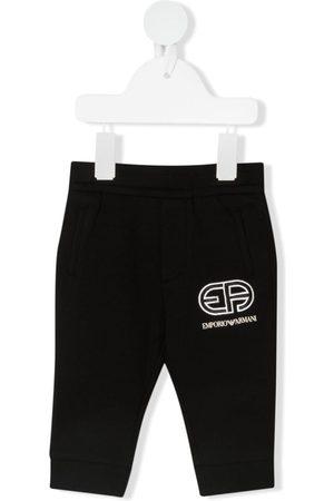 Emporio Armani Joggingbroeken - Logo-print track pants