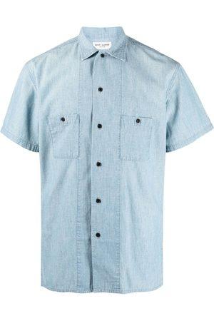 Saint Laurent Short-sleeve button-fastening shirt