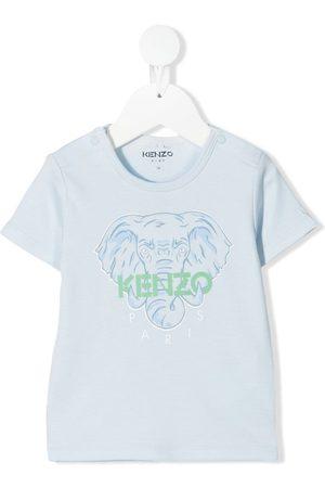 Kenzo Elephant logo-print T-shirt