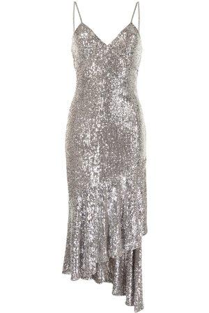 Semsem Dames Asymmetrische jurken - Asymmetric sequin-embellished dress