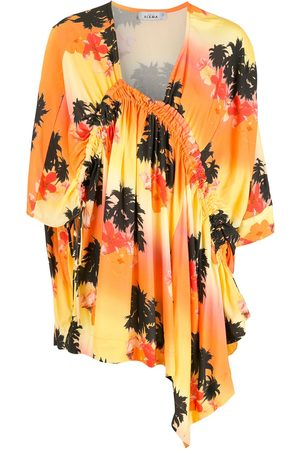 AMIR SLAMA Printed dress