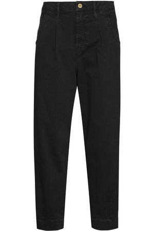 Frame Dames High waisted - Cropped tapered high-waisted jeans