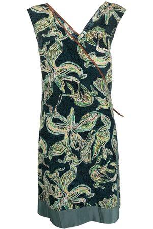 ALYSI Dames Geprinte jurken - Floral-print wrap dress