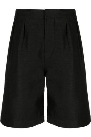 Saint Laurent Heren Bermuda's - Knee-length tailored shorts
