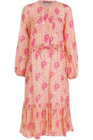 CLUBE BOSSA Printed long sleeves midi dress