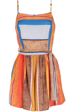AMIR SLAMA Printed playsuit