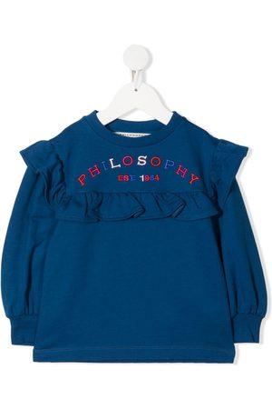 PHILOSOPHY DI LORENZO SERAFINI Meisjes Sweaters - Logo ruffle sweatshirt