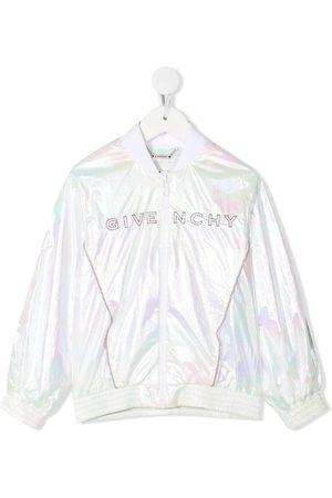 Givenchy Logo-embroidered bomber jacket
