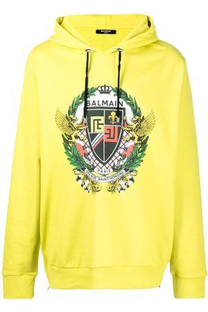 Balmain Heren Hoodies - Graphic-print hoodie