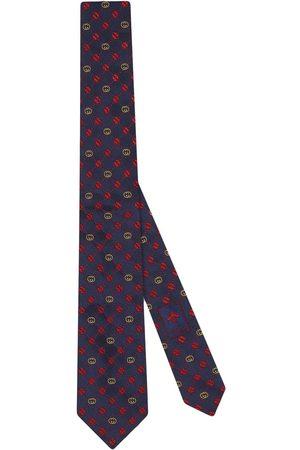Gucci Heren Vlinderdassen - Interlocking C silk tie