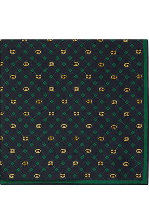 Gucci Interlocking G silk pocket square