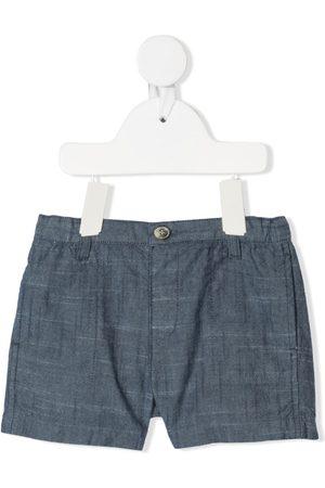 BONPOINT Academy chambray cotton shorts