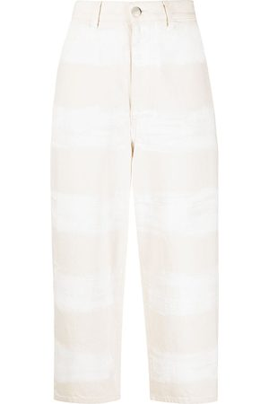Marni Wide-leg cropped trousers