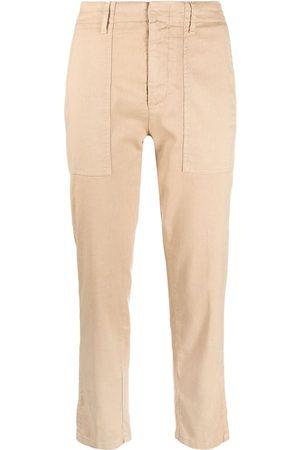Dondup Dames Capri's - Cropped straight-leg trousers