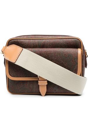 Etro Heren Schoudertassen - Paisley-print shoulder bag