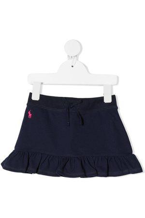 Ralph Lauren Polo Pony embroidered miniskirt