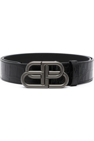 Balenciaga BB logo-buckle belt