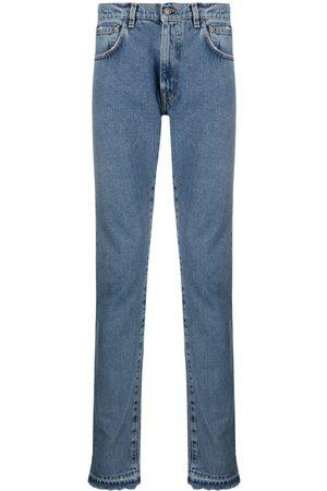 424 FAIRFAX Heren Straight - Mid-rise straight-leg jeans