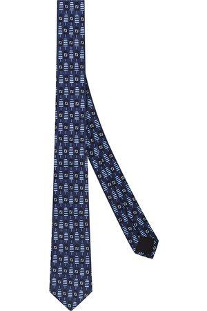 Fendi Heren Vlinderdassen - FF popsicle print necktie