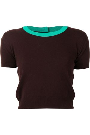 CHANEL 1995 short-sleeved cashmere T-shirt