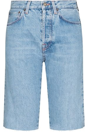 Made In Tomboy Dames Shorts - Victoria denim Bernuda shorts