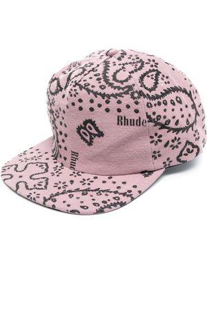 Rhude Paisley print cap