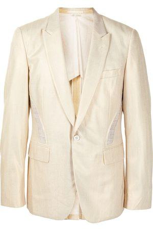 Comme des Garçons Heren Blazers - Cut-out panel blazer