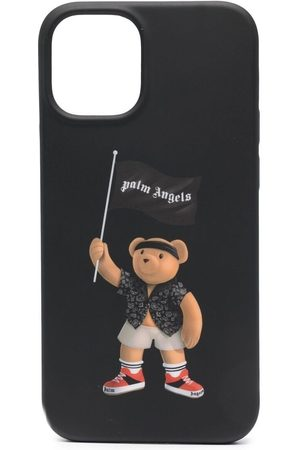 Palm Angels Heren Telefoon hoesjes - Pirate bear iPhone 12 case