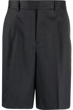 VALENTINO Stripe-detail knee-length shorts