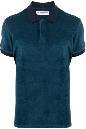Orlebar Brown Heren Korte mouw - Short-sleeved cotton polo shirt