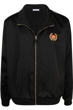 BEL-AIR ATHLETICS Embroidered-logo detail jacket