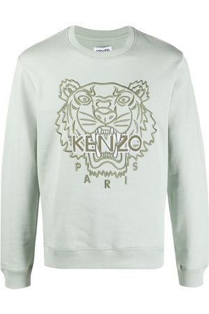 Kenzo Heren Sweaters - Embroidered-tiger sweatshirt