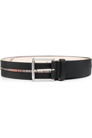 Paul Smith Heren Riemen - Artist-stripe leather belt